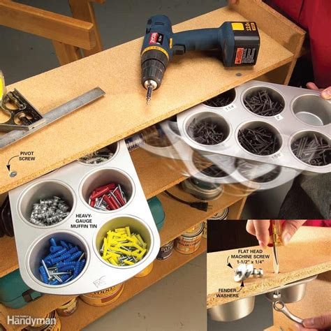 Garage Hardware Storage Ideas And Clever Workshop Storage Solutions The Family