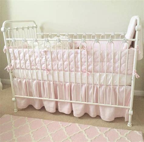 Joy Baby Crib Distressed White Distressed Baby Crib