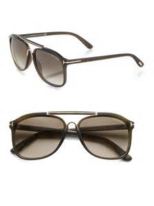 tom ford cade sunglasses in green for lyst