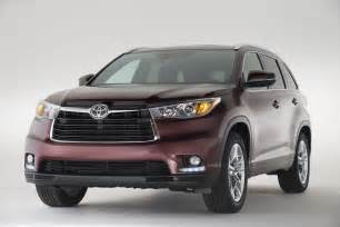 new car toyota 2014 daily cars all new 2014 toyota highlander suv