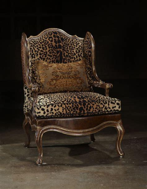animal print fabric leather fabric chair
