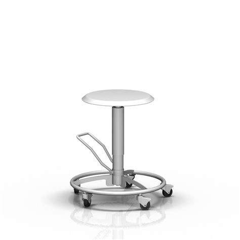 sgabello con rotelle sgabello per struttura sanitaria ad altezza regolabile