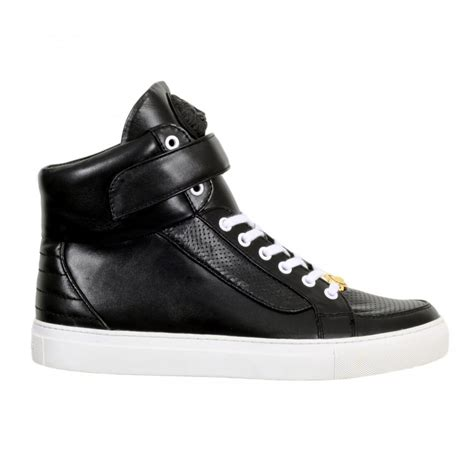 sneakers with mens buy black casual shoes for by versace uk at togged