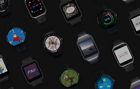 android wear devices customizable smartwatch