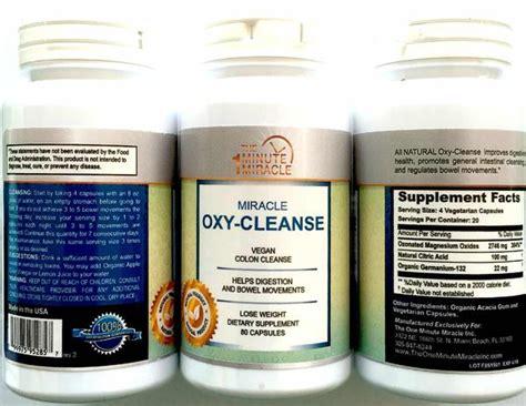 Hydrogen Peroxide Poisoning Detox by Oxy Cleanse Vegan Colon Cleanser 1 Bottles 80