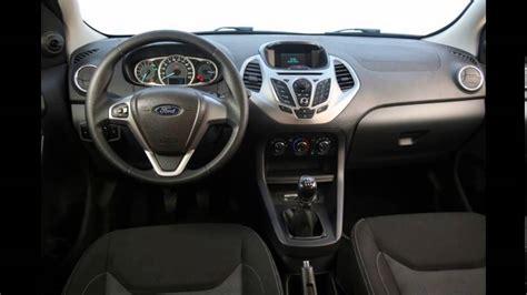 2016 ford ka interior