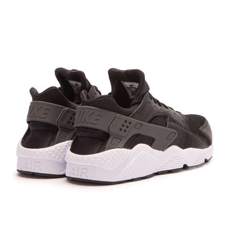 Nike Air Huarache Black Grey nike air huarache run premium black grey 704830 001