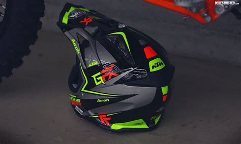 Ktm Airoh Helmet Ktm Airoh Aviator 2 1 2015 Black Grey Derestricted
