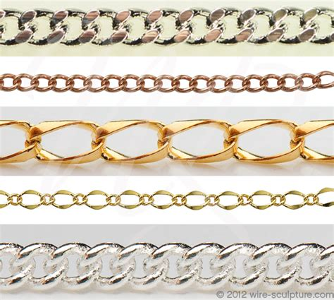chain links for jewelry types of jewelry chain links