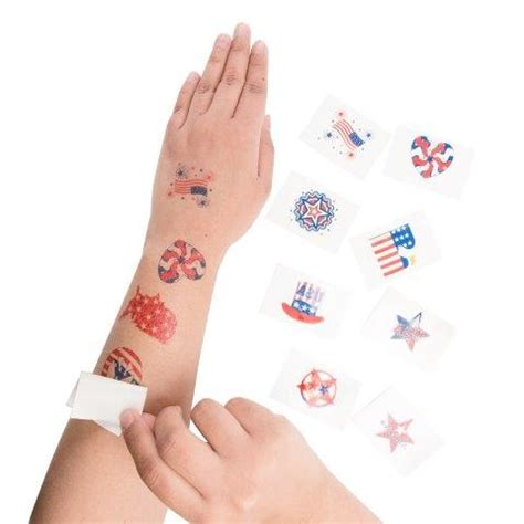 american flag temporary tattoos z outlet 1 5 patriotic american flag colorful
