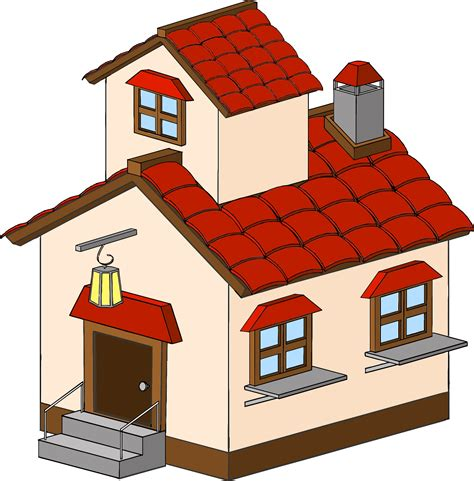 home clipart big and small house clipart
