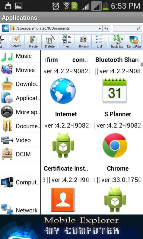 explorer mobile for android my computer mobile explorer android apps on play