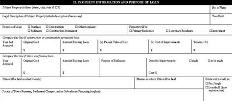 loan cost amortization code section the 1003 mortgage application form mortgage insider