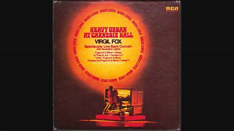 december the silver foxes of westminster volume 1 books virgil fox heavy organ carnegie vol 1 dec 20th 1972