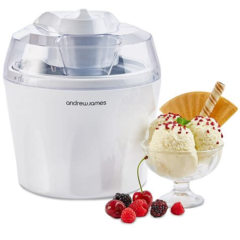 andrew james ice cream maker electric dessert fruit snow yogurt kids kitchen new ebay