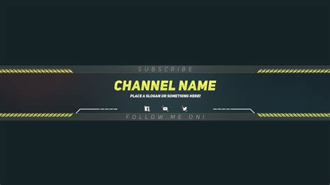 Youtube Banner Template Download Best Business Template Photoshop Banner Template