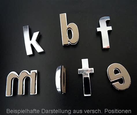 Buchstaben Aufkleber Klein by Klein Buchstabe Chrom Quot A Quot Chrom Buchstaben Autoaufkleber