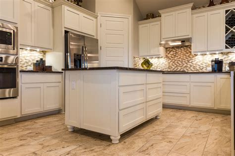 kitchen cabinets with feet cabinet feet add high end furniture look burrows cabinets central texas builder direct