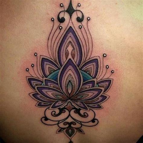 flor de lotus tattoo tattoo you flor de lotus ornamental colorida feita pelo