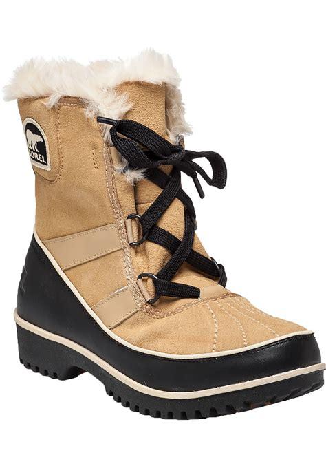 sorel tivoli ii waterproof boot in brown suede