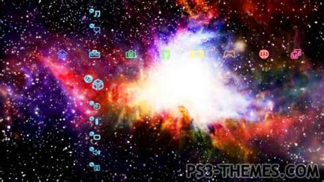 galaxy themes ps3 ps3 themes 187 ultimate galaxy dynamic theme version 3