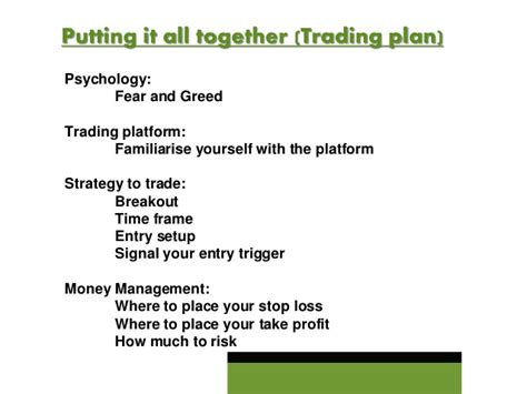 How To Pick Your First Winning Forex Trade Forex Trading Plan Template Pdf