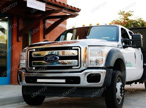 25 led light bar 2011 2016 ford f 250 f 350 duty 25 quot high power led