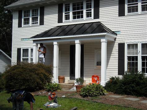 Metal Porch Roofs metal porch roof burke va consumer construction inc