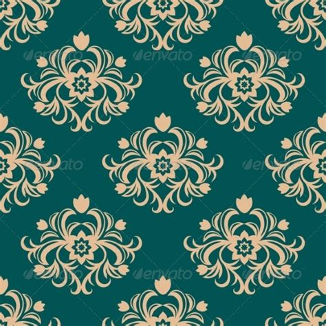 repeat pattern motifs repeat floral motifs in an arabesque pattern by seamartini