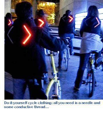 cycling jacket with lights diy cycling jackets that flash with light eta