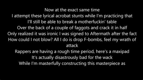eminem rap god lyrics eminem rap god lyrics youtube