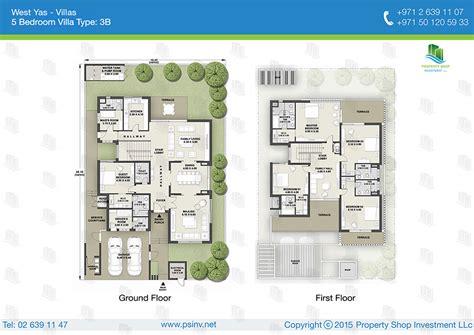 verdana villas floor plan west yas villas yas island abu dhabi
