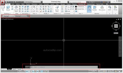 tutorial of autocad 2014 3d modeling interface workplace autocad 2014 0053autocad
