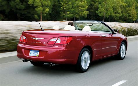 Chrysler Sebring Convertible Club 2008 chrysler sebring convertible newcomers motor trend