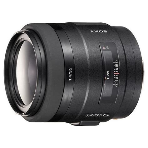Sony Lens G sony 35mm f1 4 g a high end lens by sony ranked on dxomark