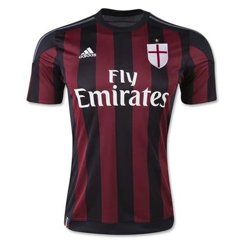 Jersey Ac Milan Home 16 ac milan home soccer jersey 2015 16 ac milan