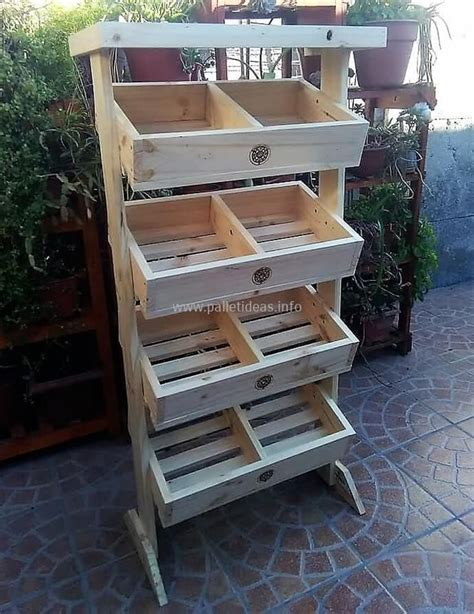 wood pallet  fruits rack plan wood pallets fresh