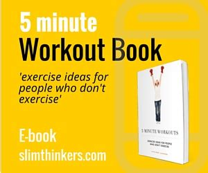 the 5 minute workout book slimthinkers