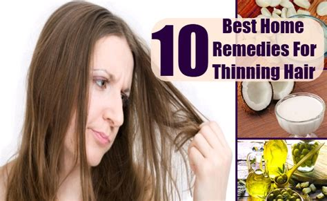 home remedies  thinning hair natural