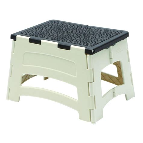 step stool for to reach gorilla ladders 1 step plastic stool with 300 lb load