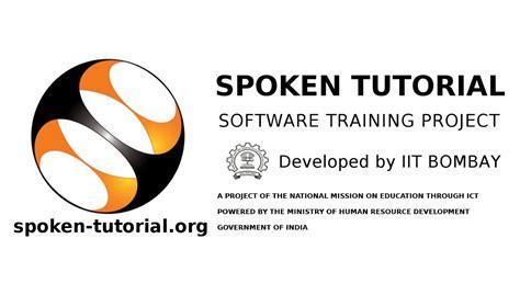 spoken tutorial online test iit bombay how to change profile picture in spoken tutorial test