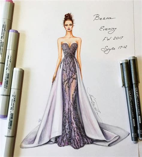 Gorgeous Fashion Illustrations by Resultado De Imagen Para Zuhair Murad Sketches Figurines