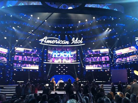Dominate Stage At American Idol by American Idol Stage Peisha Mcphee