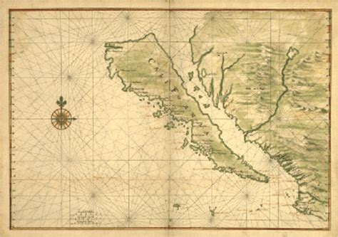 california map history historic map of california