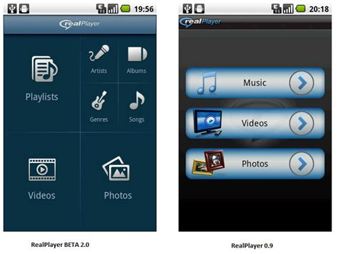 real player for android realplayer for android gets new look in beta 2 findcomputerstuff