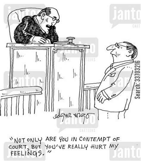 contempt of court contempt of court not bench contempt of court cartoons humor from jantoo cartoons