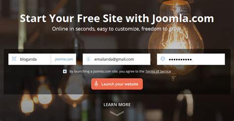 cara membuat website joomla gratis cara membuat blog gratis dengan joomla kicauan wong cilik