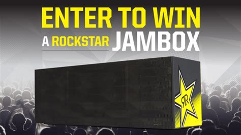 Shell Sweepstakes - rockstar shell jambox sweepstakes rockstar energy drink