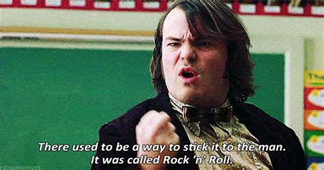 School Of Rock Meme - jack black school of rock quotes quotes