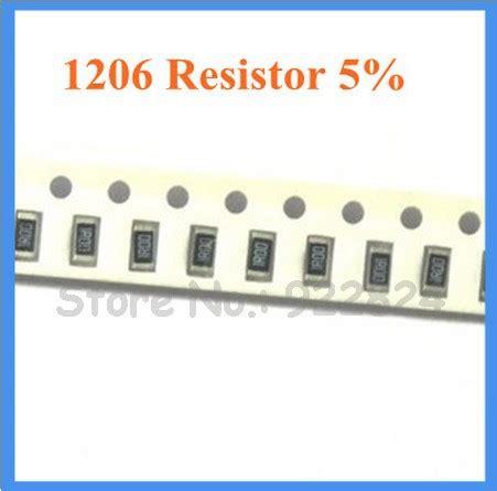 smd resistor 151 500pcs lot 5 1206 smd resistor 150r ohm chip resistor 150r 151 free shipping china mainland